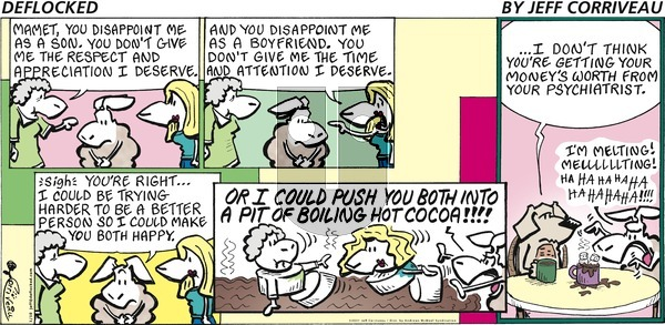 DeFlocked on Sunday January 10, 2021 Comic Strip