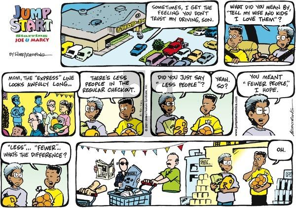 JumpStart - Sunday May 20, 2001 Comic Strip