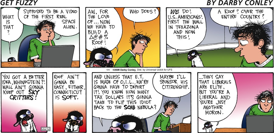 Get Fuzzy for Oct 6, 2013 Comic Strip