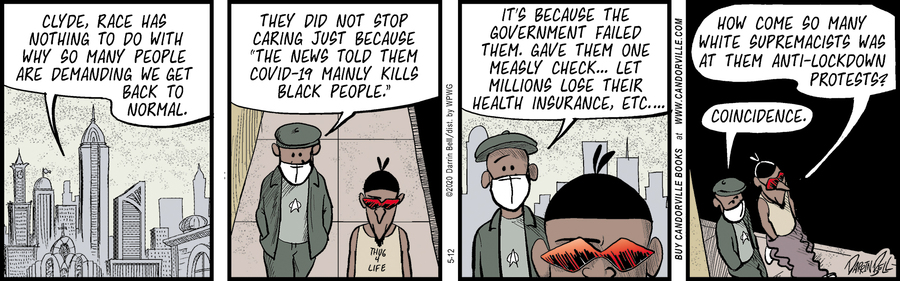 Candorville Comic Strip for May 12, 2020