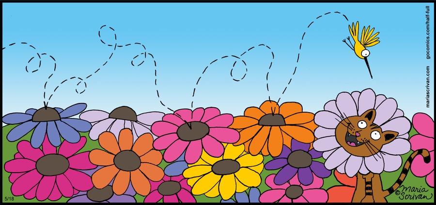Half Full Comic Strip for May 18, 2014