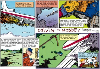 Calvin and Hobbes (April 11, 1993)