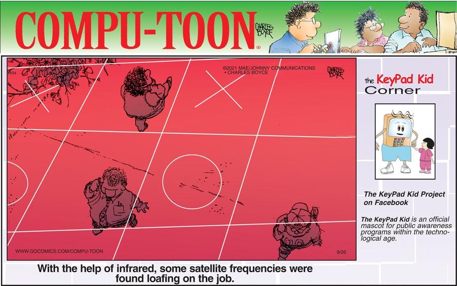Compu-toon Comic Strip for September 26, 2021
