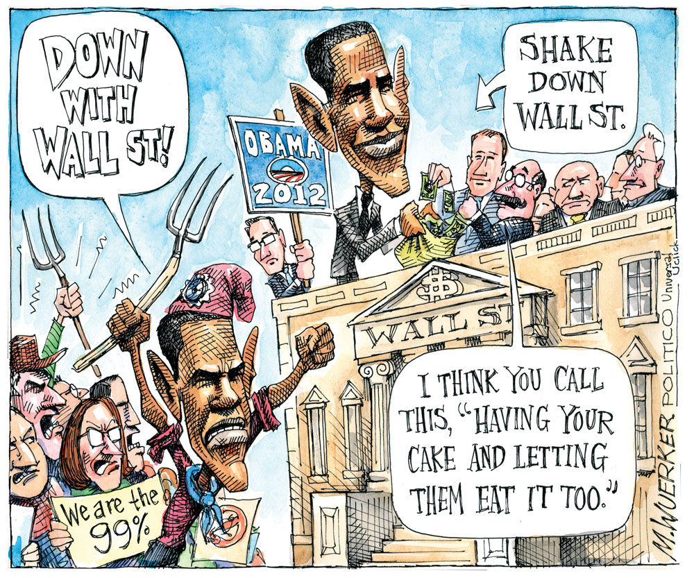 Matt Wuerker Comic Strip for October 31, 2011