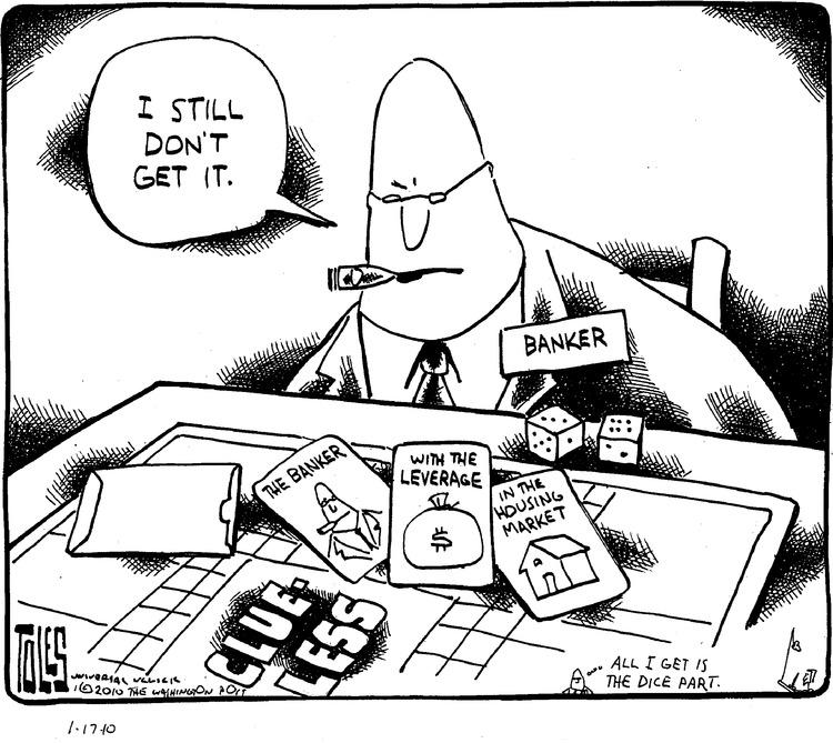 Tom Toles for Jan 17, 2010 Comic Strip