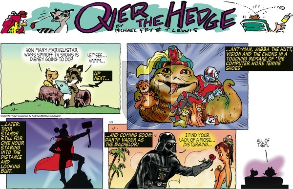 Over the Hedge - Sunday May 9, 2021 Comic Strip