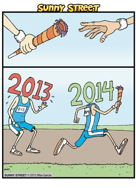 Sunny Street Comic Strip for December 31, 2013