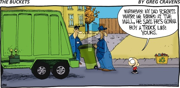 The Buckets on Sunday November 18, 2018 Comic Strip