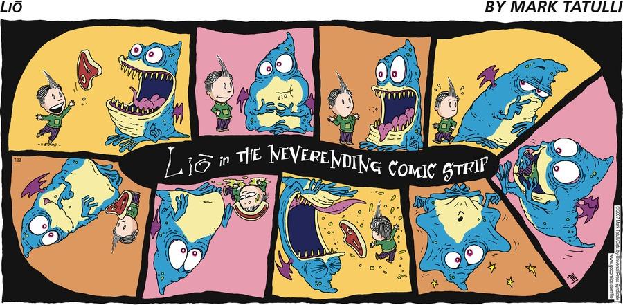 Lio Lio in the Neverending Comic Strip