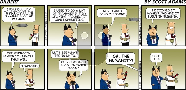 Dilbert on Sunday December 22, 2013 Comic Strip