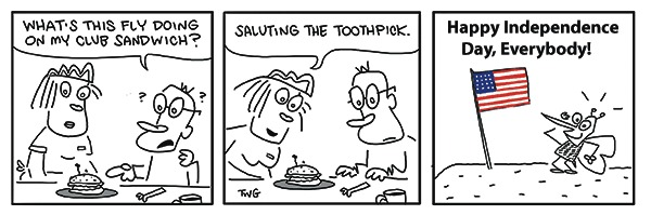 The Doozies Comic Strip for July 04, 2021