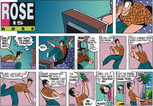 Rose is Rose on Sunday August 26, 2018 Comic Strip