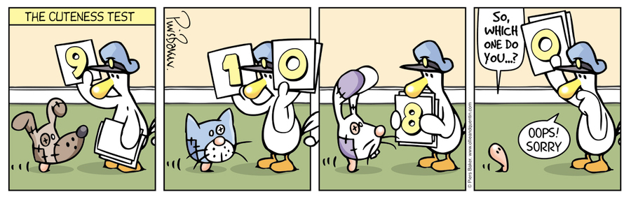 Ollie and Quentin Comic Strip for March 22, 2016