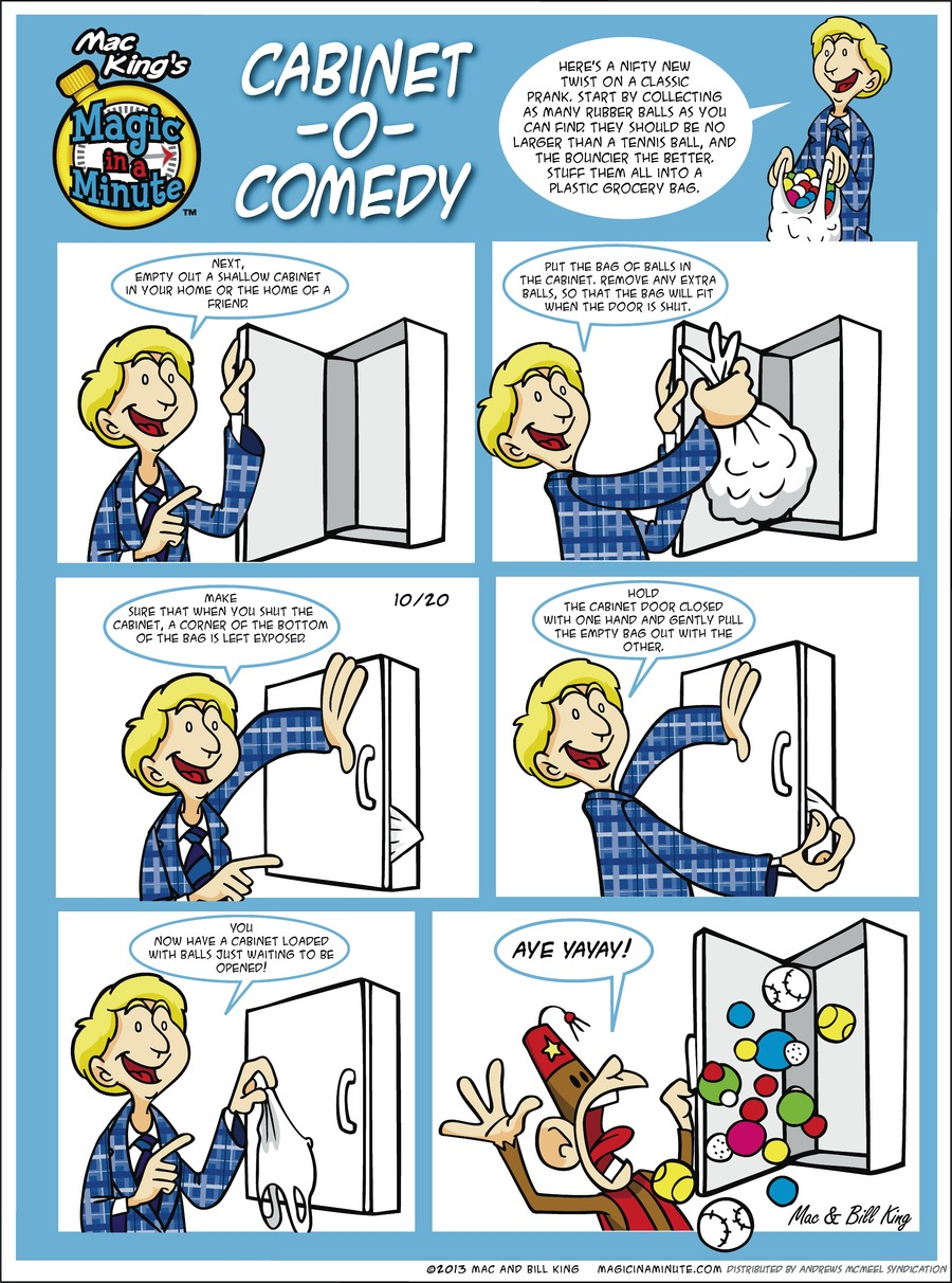 Magic in a Minute Comic Strip for October 20, 2019