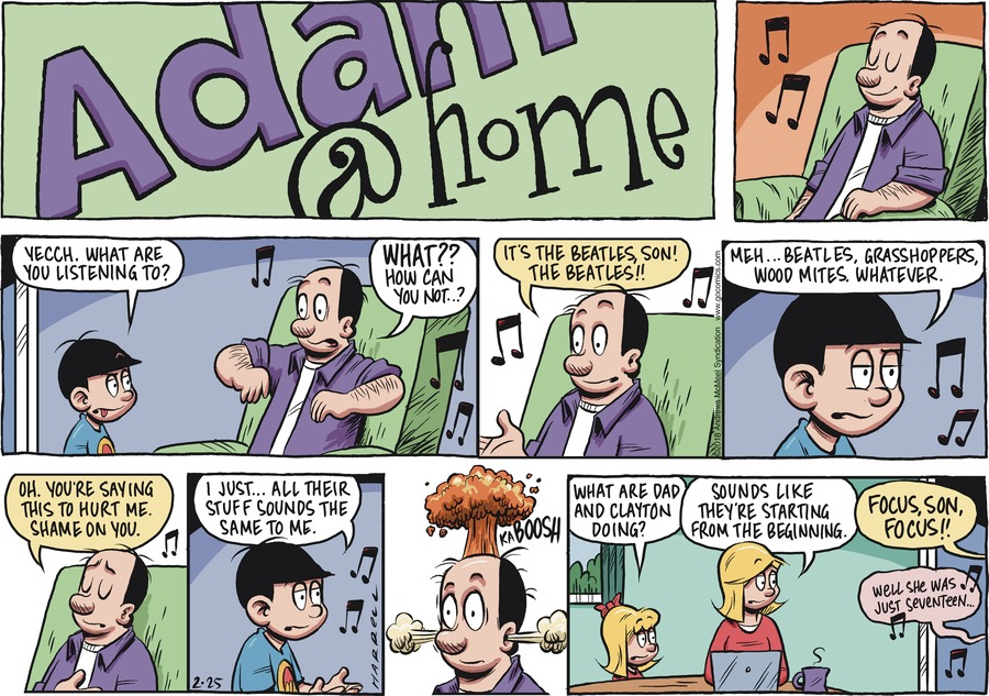 Adam@Home Comic Strip for February 25, 2018