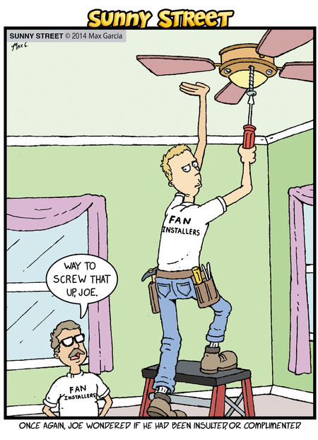 Sunny Street Comic Strip for January 02, 2014