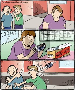 Brevity on Monday March 21, 2011 Comic Strip