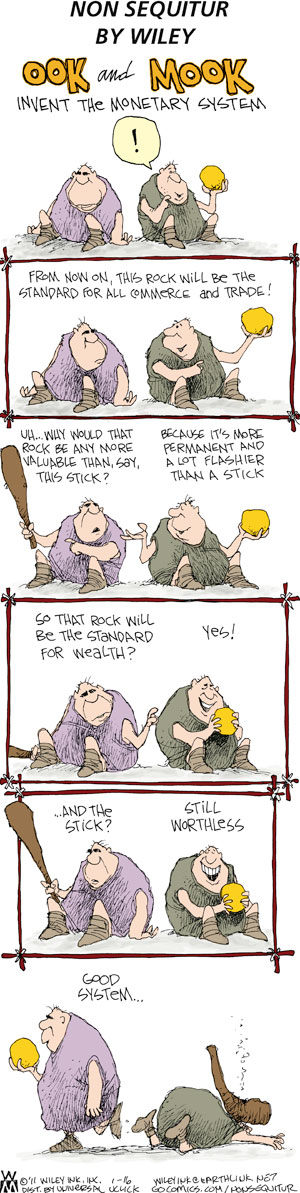 Non Sequitur Comic Strip for January 16, 2011