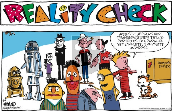 Reality Check on Sunday August 9, 2020 Comic Strip