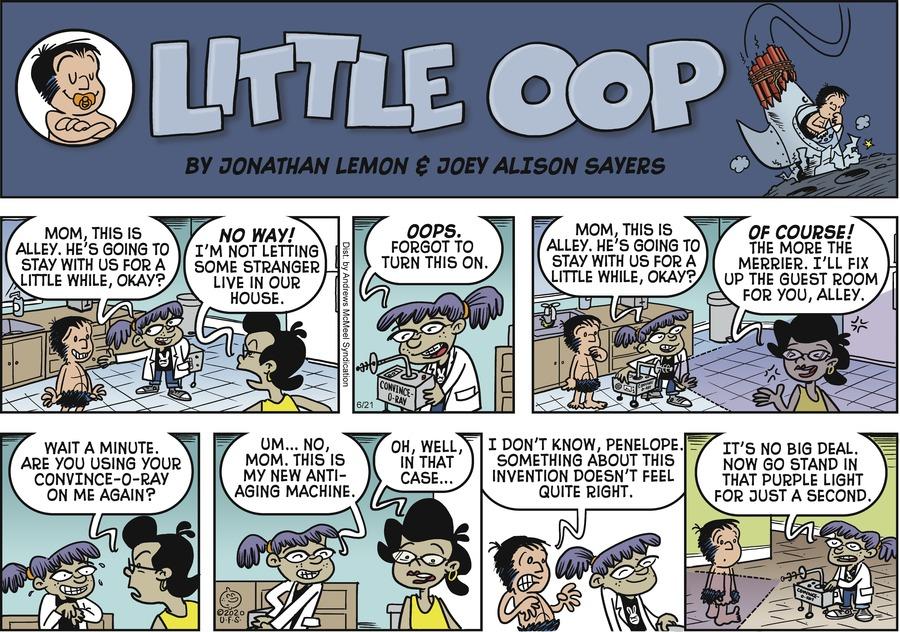 Alley Oop Comic Strip for June 21, 2020