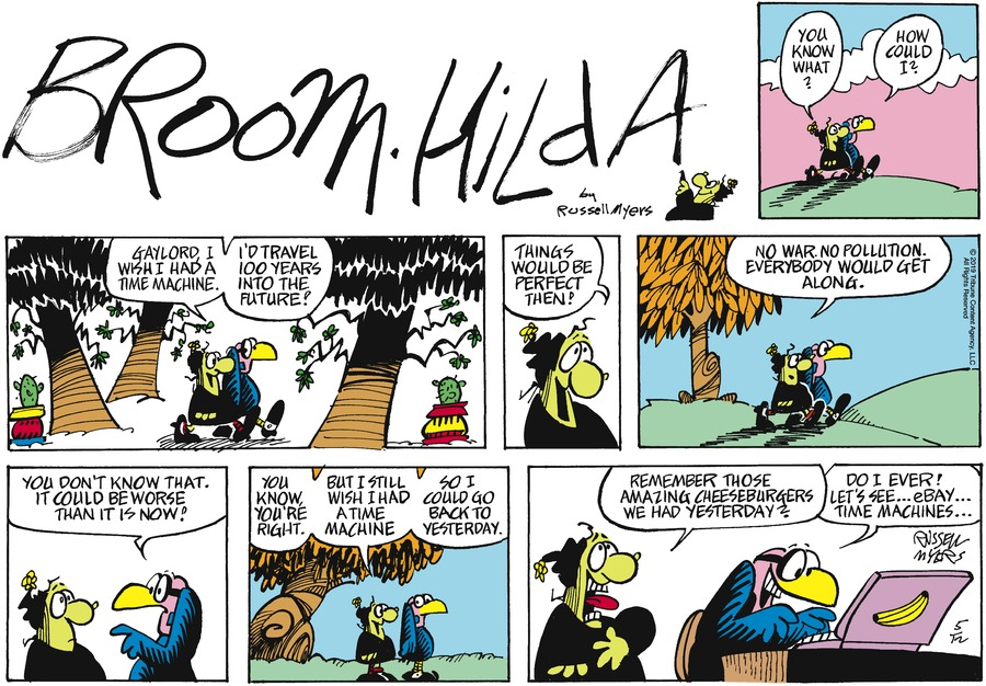 Broom Hilda by Russell Myers for May 12, 2019