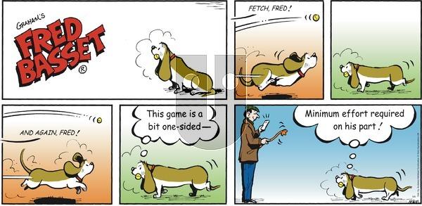 Fred Basset on Sunday June 6, 2021 Comic Strip