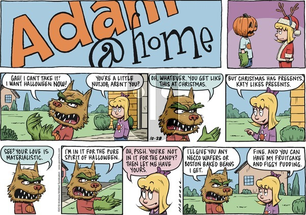 Adam@Home on Sunday October 28, 2018 Comic Strip