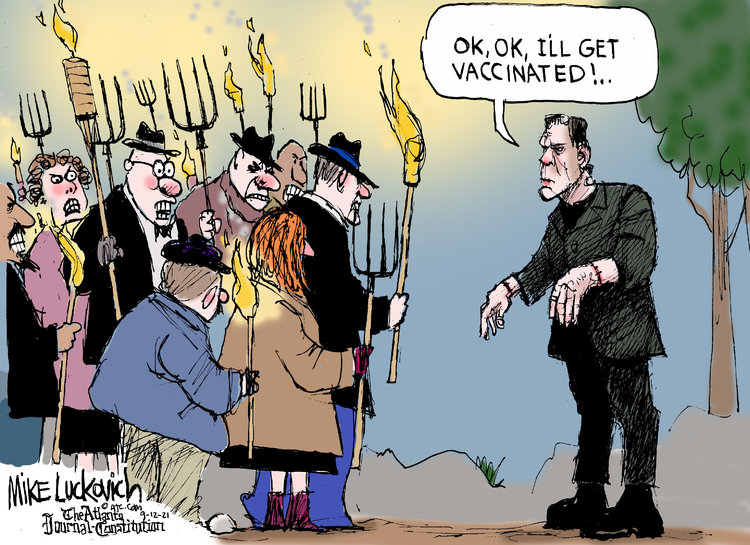 Mike Luckovich by Mike Luckovich on Sun, 12 Sep 2021
