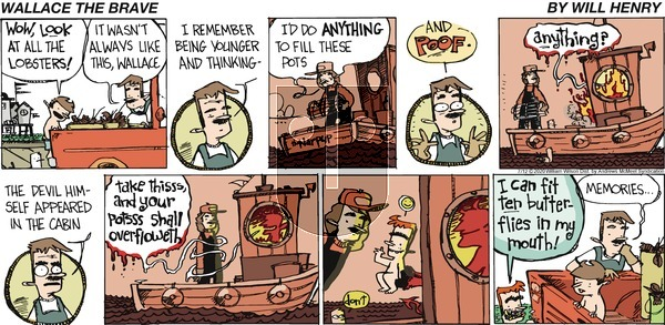 Wallace the Brave - Sunday July 12, 2020 Comic Strip