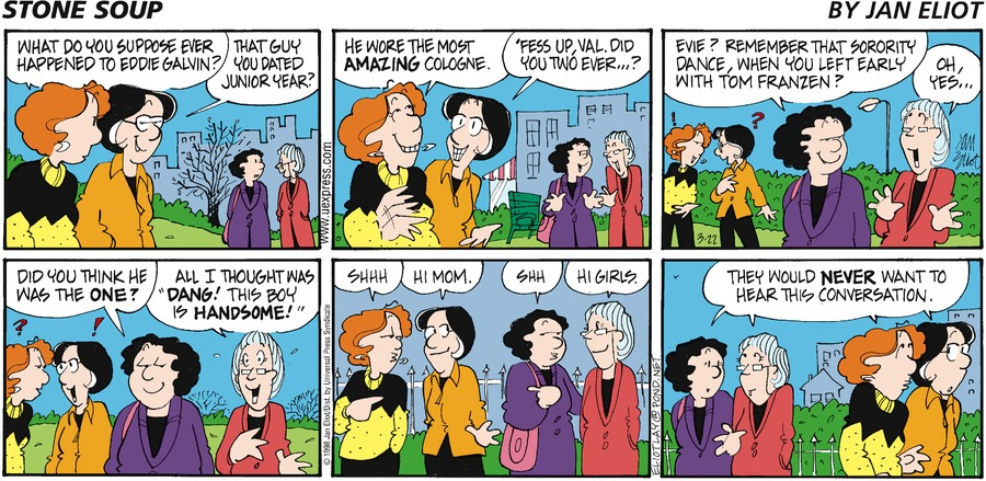 Stone Soup for Mar 22, 1998 Comic Strip