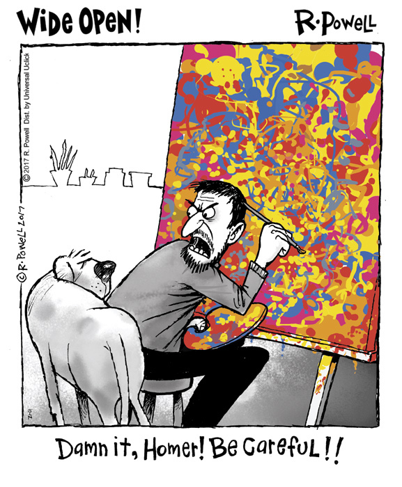 Wide Open for Oct 12, 2017 Comic Strip