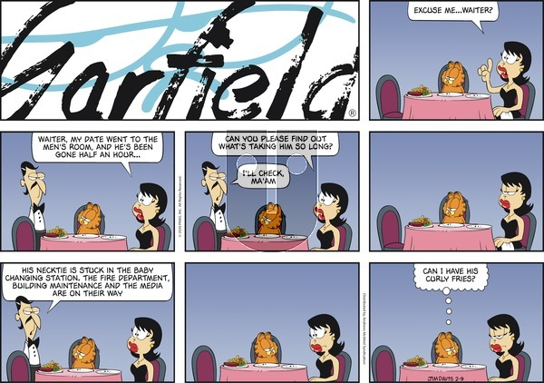 Garfield on Sunday February 9, 2020 Comic Strip