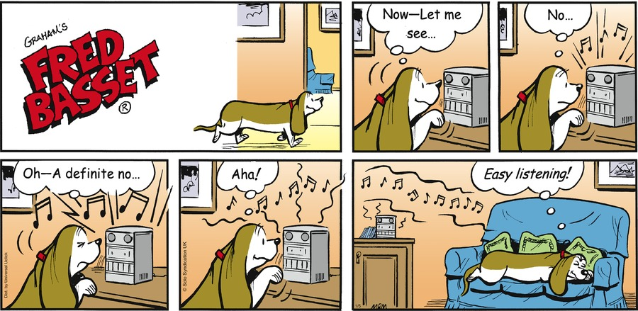 Fred Basset Comic Strip for January 05, 2014
