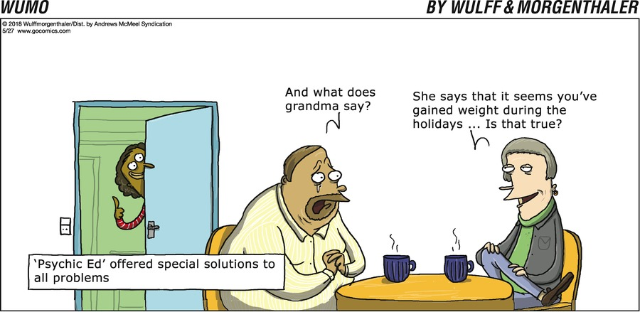 WuMo for May 27, 2018 Comic Strip