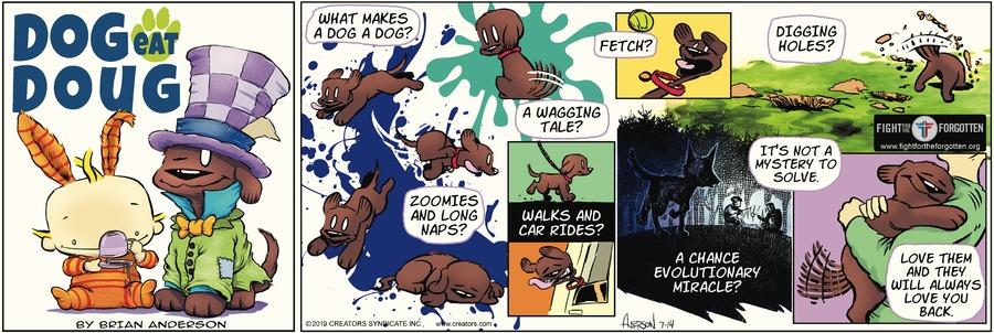Dog Eat Doug Comic Strip for July 14, 2019