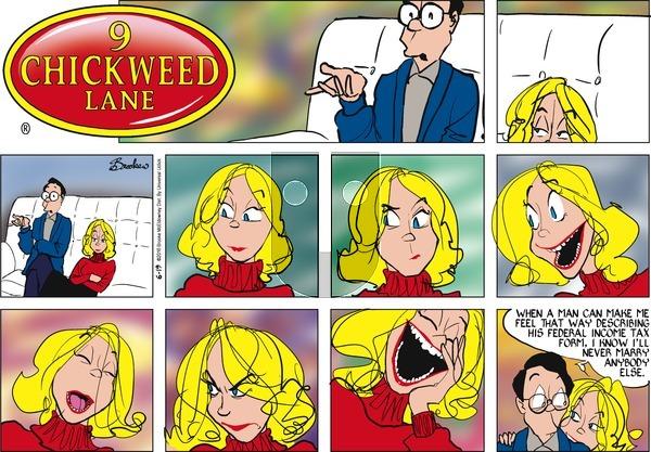 9 Chickweed Lane on Sunday June 19, 2016 Comic Strip
