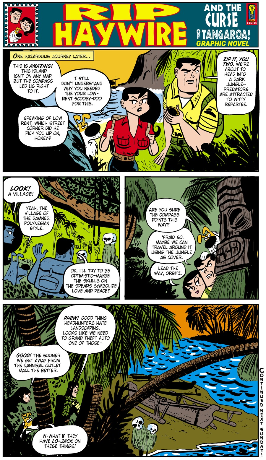 Rip Haywire Comic Strip for December 29, 2013