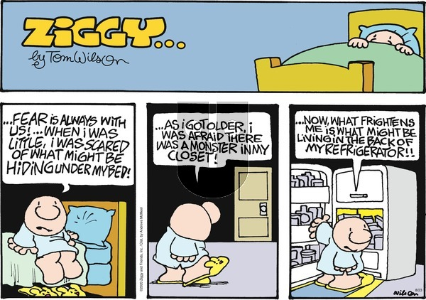 Ziggy on Sunday August 23, 2020 Comic Strip