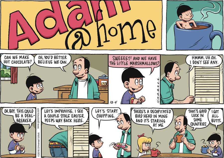 Adam@Home Comic Strip for December 04, 2016