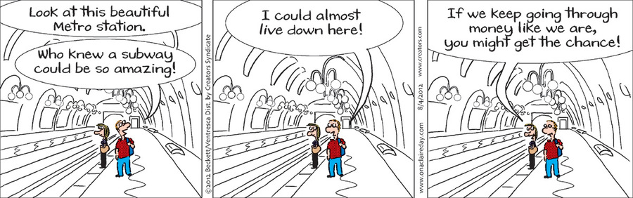 On A Claire Day Comic Strip for August 02, 2020