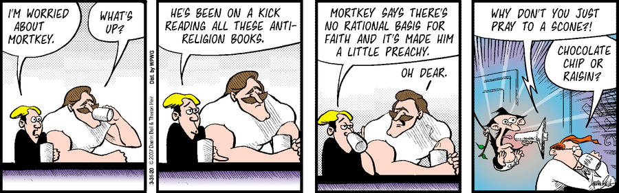 Rudy Park Comic Strip for March 31, 2020