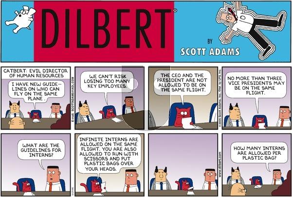 Dilbert - Sunday October 23, 2005 Comic Strip