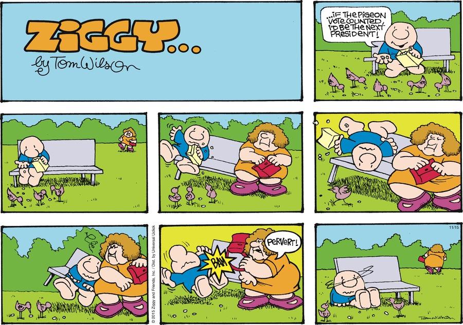 Ziggy Comic Strip for November 15, 2015