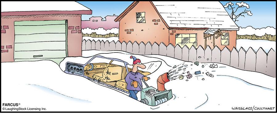 Farcus Comic Strip for February 28, 2021