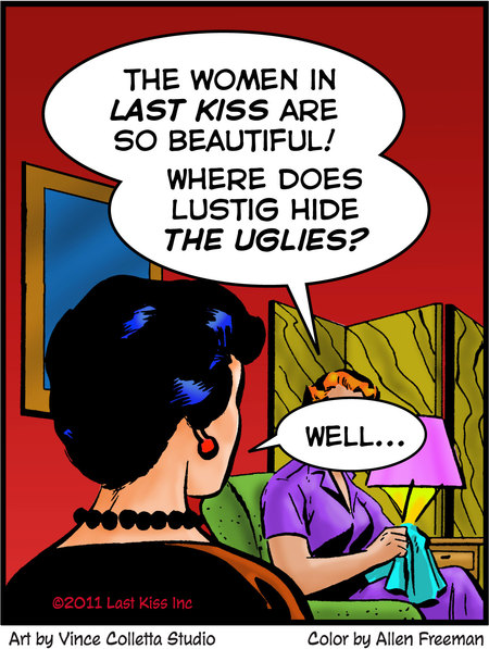 Last Kiss for Oct 6, 2017 Comic Strip