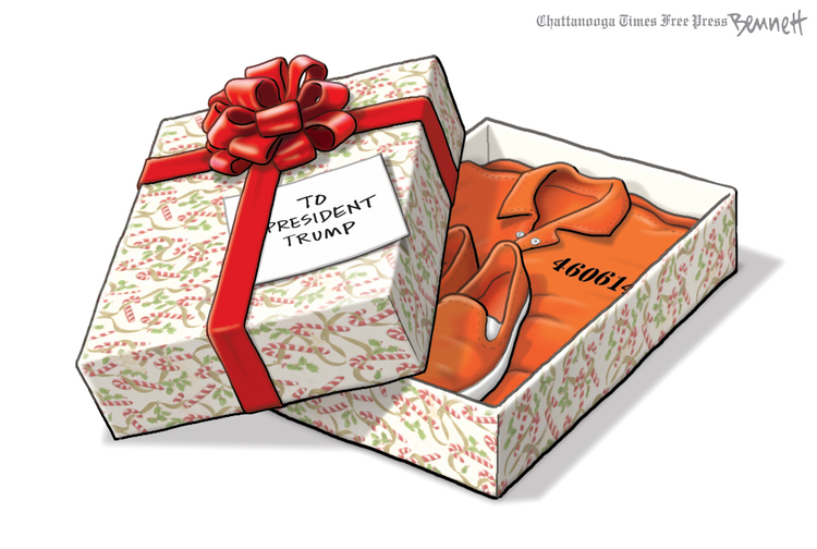 Clay Bennett by Clay Bennett on Sun, 08 Dec 2019