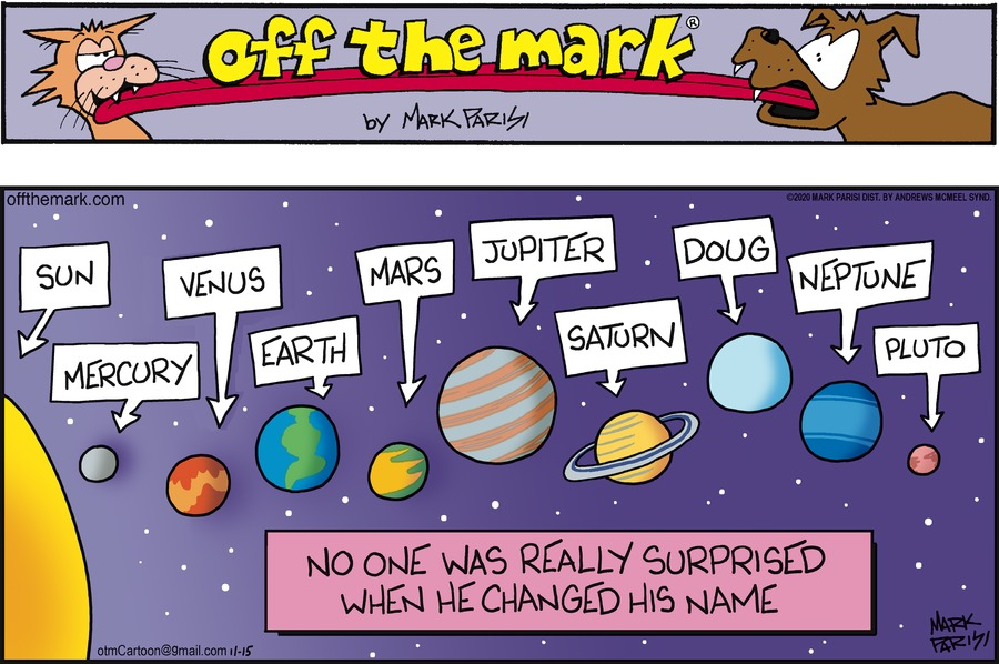 Off the Mark Comic Strip for November 15, 2020