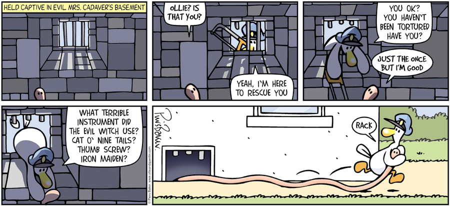 Ollie and Quentin Comic Strip for March 27, 2016
