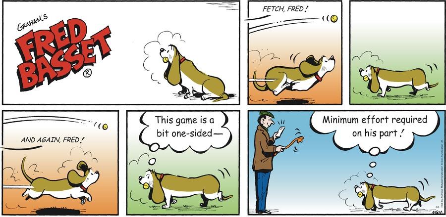 Fred Basset Comic Strip for June 06, 2021
