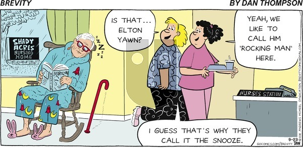 Brevity on Sunday September 23, 2018 Comic Strip